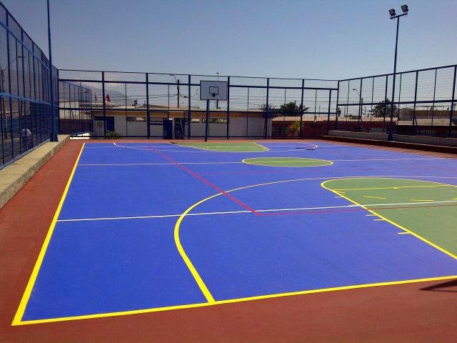 Multicanchas campos deportivos asfalgrez - Pintura para pistas deportivas ...